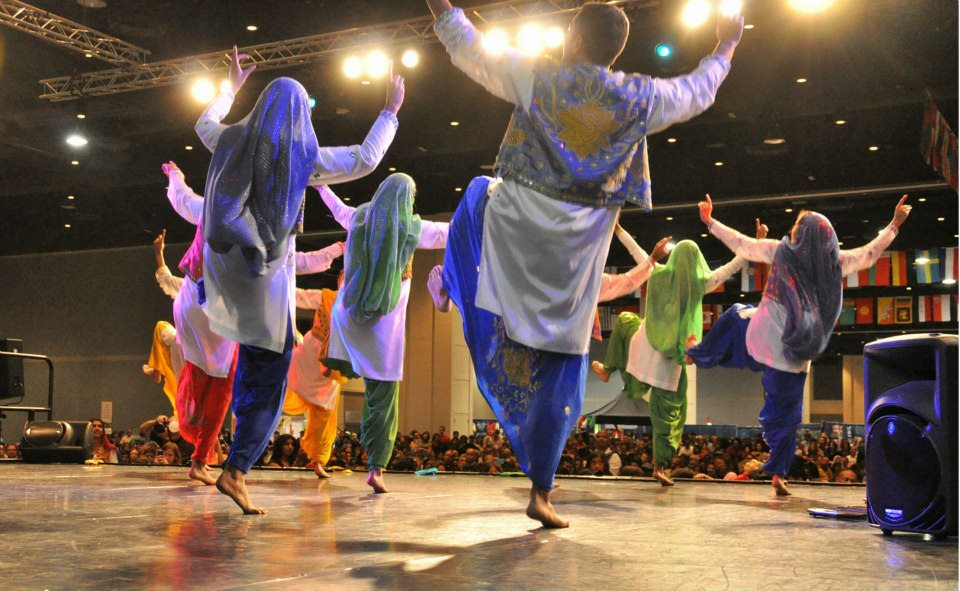 Dancers at the International Festival, courtesy of the International Festival Facebook page. Photo by Don Webster.