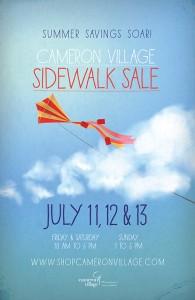 Cam Vill Sidewalk Sale