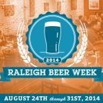 Raleigh Beer Week 2014 logo