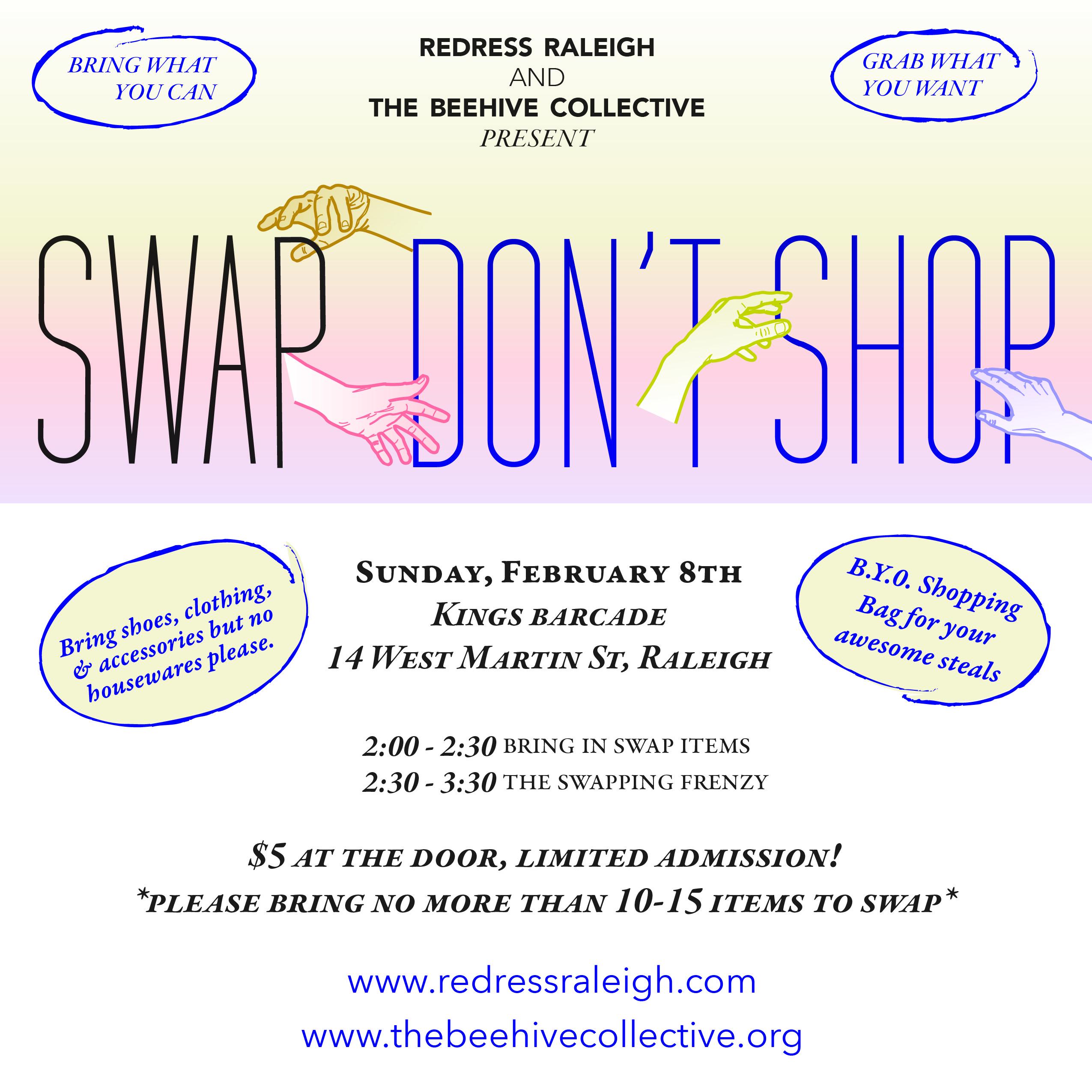 redress raleigh clothing swap meet