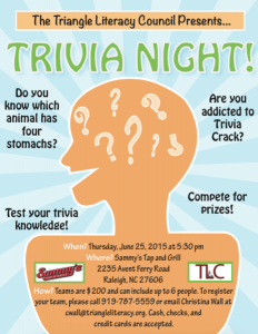 TLC Trivia Night