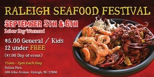 Raleigh Seafood Festival