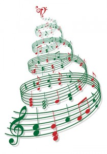 Christmas Tree Music Notes