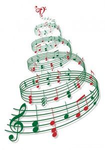 Christmas Tree Music Notes